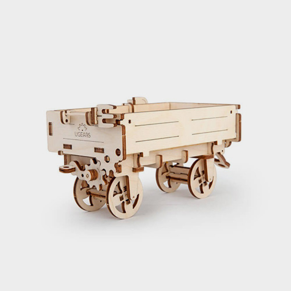 3D Puzzle Tractor's Trailer