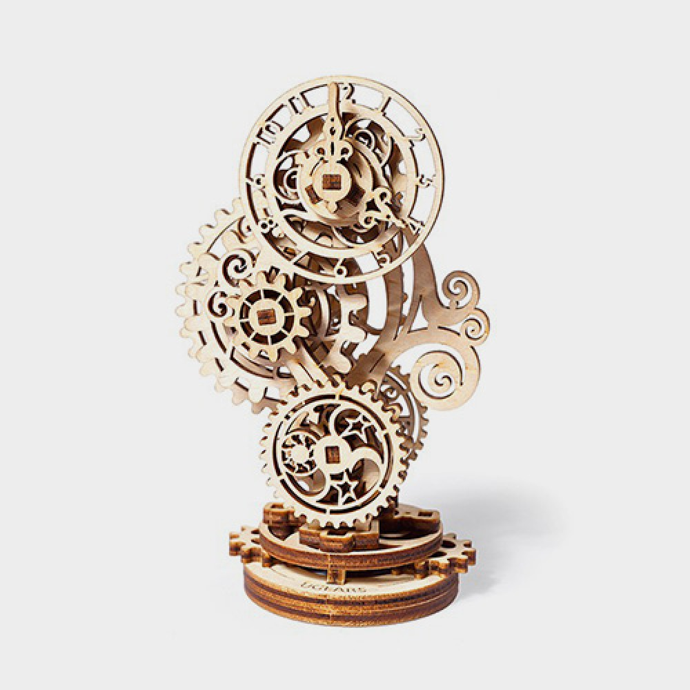 3D Puzzle Steampunk Clock