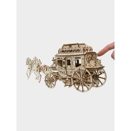 3D Puzzle Stagecoach